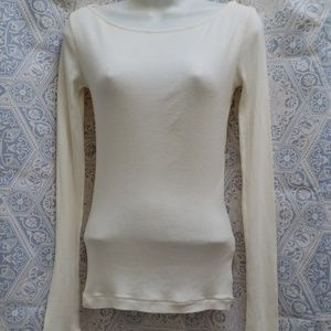 FREE PEOPLE LONG SLEEVES T-SHIRT SIZE xs